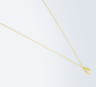 Gold Caged Necklace